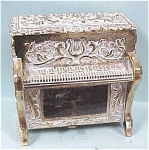 Metal Piano Music Box Ring Holder