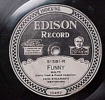 Click here to enlarge image and see more about item m00086: Edison Record #51581: 'Day Dreaming' 'Funny'