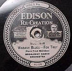Click here to enlarge image and see more about item m00088: Edison Record #50874: 'Sal-o-May' and 'Wabash Blues'