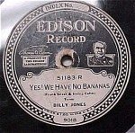Click here to enlarge image and see more about item m00089: Edison #51183 - Yes! We Have No Bananas