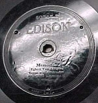 Click here to enlarge image and see more about item m00106: Edison Record #50345: 'Wonderful Mother', 'Memories'