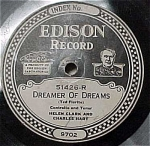 Click here to enlarge image and see more about item m00107: Edison #51426: Rockabye my Baby Blues