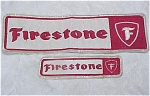 Click here to enlarge image and see more about item m00185: Firestone Patches