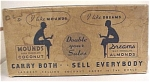 Click to view larger image of 1930s Peter Paul Mounds Candy Bar Case Box (Image1)