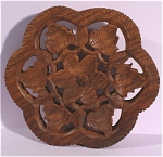 Click to view larger image of Carved Wood Trivet (Image1)