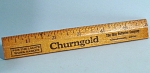 Click here to enlarge image and see more about item m00335: Churngold Advertising Ruler