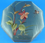 Click here to enlarge image and see more about item m00372m: Vintage Silk Jewelry Box