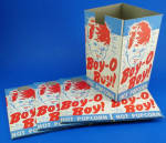 Click here to enlarge image and see more about item m00406: Four 1940s/1950s Cardboard Popcorn Boxes