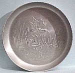 Click here to enlarge image and see more about item mt00002: Aluminum Duck Plate or Large Coaster