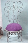 Hand Crafted Metal Can Chair Pincushion
