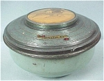Click here to enlarge image and see more about item mt00074: Tin Covered Pin Box