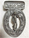 Click here to enlarge image and see more about item mt00088: Silver Bookmark, 1900+/-