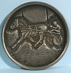 Click to view larger image of Standardbred Horse Pacer Coaster (Image1)