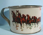 Click here to enlarge image and see more about item mt00145: Budwieser Tin Cup