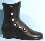 Click here to enlarge image and see more about item mt00146: Cast Metal High Button Shoe
