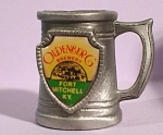 Click here to enlarge image and see more about item mt00151: Miniature Pewter Mug, Oldenberg Brewery
