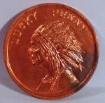 Click to view larger image of 1933 Chicago Centennial Souvenir Coin (Image2)
