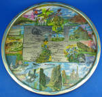 Click here to enlarge image and see more about item mt00192: Colorado Souvenir Metal Tray