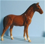 Click here to enlarge image and see more about item n00027: K2181b Standing Brown Horse