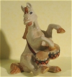 Click here to enlarge image and see more about item n00064: K6626 Horse Playing Drums