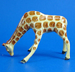 Click here to enlarge image and see more about item n00123: K1161 Drinking Giraffe