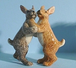 Click here to enlarge image and see more about item n00132: K6395 Dancing Rabbits