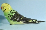 Click here to enlarge image and see more about item n00285: K6191b Green Budgie Box
