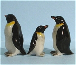 Click here to enlarge image and see more about item n00479: X0651 Tiny Penguin Family