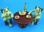 Click here to enlarge image and see more about item n01144: K2041 Frog Banquet