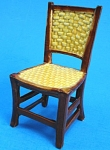 Click here to enlarge image and see more about item n01155: Porcelain Miniature Dollhouse Chair