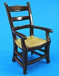 Click here to enlarge image and see more about item n01156: Porcelain Miniature Dollhouse Chair