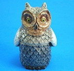 Click here to enlarge image and see more about item n01175: K544 Owl Trinket Box