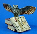 K4191 Owl on Zodiac Books
