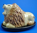 Lion Salt and Pepper Shaker Set