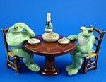 Click here to enlarge image and see more about item n01335: K2041 Frog Banquet
