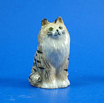 Click here to enlarge image and see more about item n01463: K5351 Tabby Persian Cat