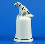 Click here to enlarge image and see more about item n01534: K4341 Dalmatian Thimble