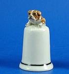 Click here to enlarge image and see more about item n01535: K4341 Bulldog Thimble