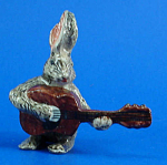 K1625 Rabbit with Guitar