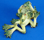 Click here to enlarge image and see more about item n01557: K659 Frog Couple