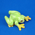 Click here to enlarge image and see more about item n01563: K3932 Red Eye Tree Frog