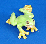 Click here to enlarge image and see more about item n01565: K3932 Red Eye Tree Frog