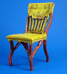 Click here to enlarge image and see more about item n01606: Resin Dollhouse Chair