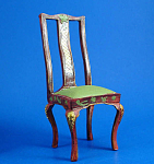 Click here to enlarge image and see more about item n01612: Resin Dollhouse Chair