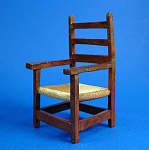 Click here to enlarge image and see more about item n01615: Resin Dollhouse Chair