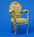Click here to enlarge image and see more about item n01616: Resin Dollhouse Chair