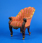Click here to enlarge image and see more about item n01617: Resin Dollhouse Chair