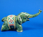 K815 Incense Stick Holder Elephant Figurine