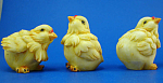 Click here to enlarge image and see more about item n01717: Resin Chick Trio