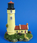 Click here to enlarge image and see more about item n01738: Resin Lighthouse